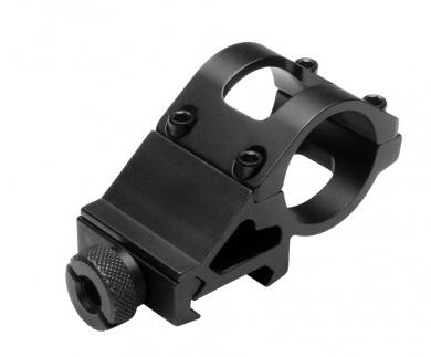 "1"" Offset Mount for FlashLight & Laser"