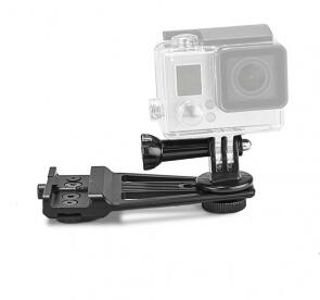Action Camera Mount w/KPM Mounting System (KeyMod/Picatinny/M-LOK)