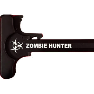 AR-15 Laser Engraved Charging Handle – Zombie Hunter