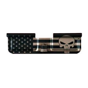 Laser Engraved Ejection Port - Big Flag with Punisher
