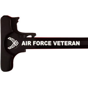 AR-15 Laser Engraved Charging Handle –Air Force Veteran