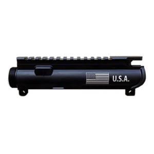 AR-15 UPPER RECEIVER ENGRAVED-Flag - USA