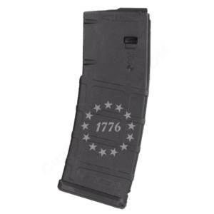 AR15 Magazine Magpul Pmag 30rd laser engraved - 1776 Star