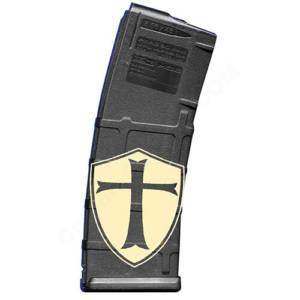 AR15 Magazine Magpul Pmag 30rd laser engraved - Crusader Shield