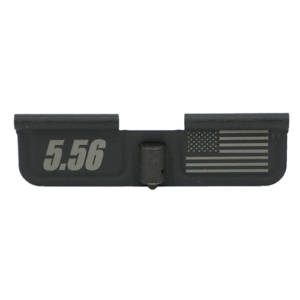 AR-15 Ejection Port Laser Engraved - 5.56 US Flag