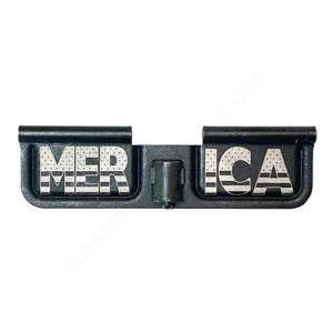 AR-15 Ejection Port Laser Engraved - Merica