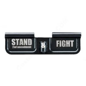 AR-15 Ejection Port Laser Engraved - Stand 2nd & Fight