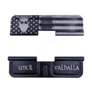 AR-15 Ejection Port Laser Engraved - Until Valhalla Odin