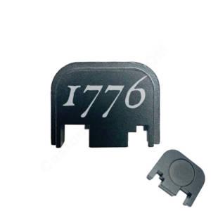Glock Back Plate Laser Engraved - 1776