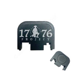 Glock Back Plate Laser Engraved - 1776 Project