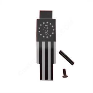 AR-15 Trigger Guard Laser Engraved - 1776 Flag