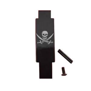 AR-15 Trigger Guard Laser Engraved - Pirate Flag