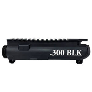 AR-15 UPPER RECEIVER ENGRAVED- .300 BLK