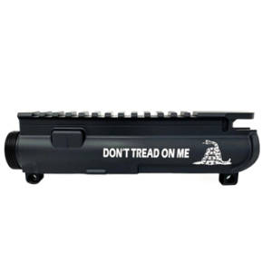 AR-15 UPPER RECEIVER ENGRAVED- DON'T TREAD ON ME -1