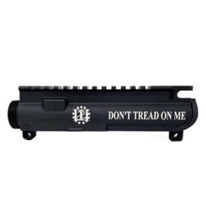 AR-15 UPPER RECEIVER ENGRAVED- DON'T TREAD ON ME -2