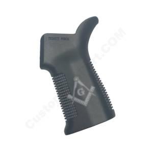 Trinity Force 17° AR GRIP Laser Engraved - Free Mason