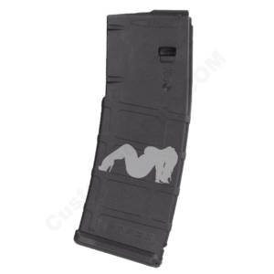 AR15 Magazine Magpul Pmag 30rd laser engraved - Big Girl