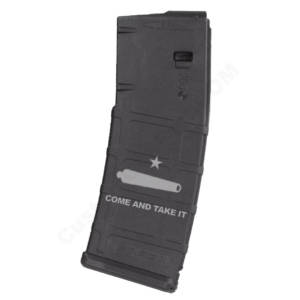 AR15 Magazine Magpul Pmag 30rd laser engraved - Come and Take It