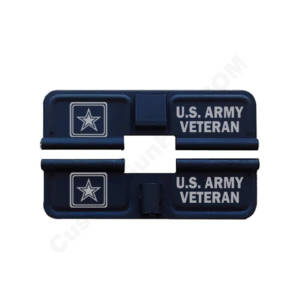 AR-15 Ejection Port Laser Engraved - US Army Veteran