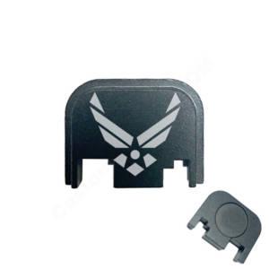 Glock Back Plate Laser Engraved - Air Force Logo