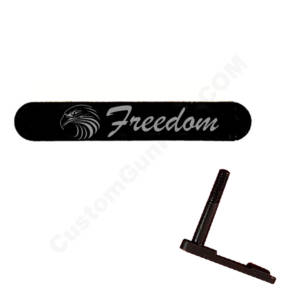 AR-15 Magazine Catch Laser Engraved - Freedom Eagle