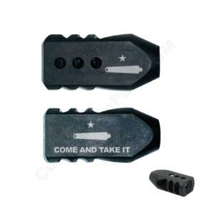 .223/5.56/.22LR Tanker Muzzle Brake 1/2x28 TPI - Come and Take It