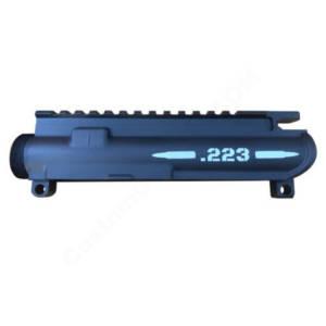 AR-15 UPPER RECEIVER ENGRAVED- .223 Bullet
