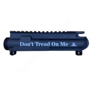 AR-15 UPPER RECEIVER ENGRAVED- Don't Tread On Me