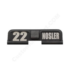AR-15 Ejection Port Laser Engraved - 22 NOSLER